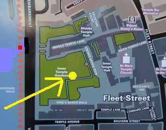 map of Inner Temple